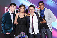 The Cast of HOW TO ROCK  at the TeenNick HALO Awards held at The Palladium in Hollywood, California on November 17,2012                                                                               © 2012 Debbie VanStory/ iPhotoLive.com