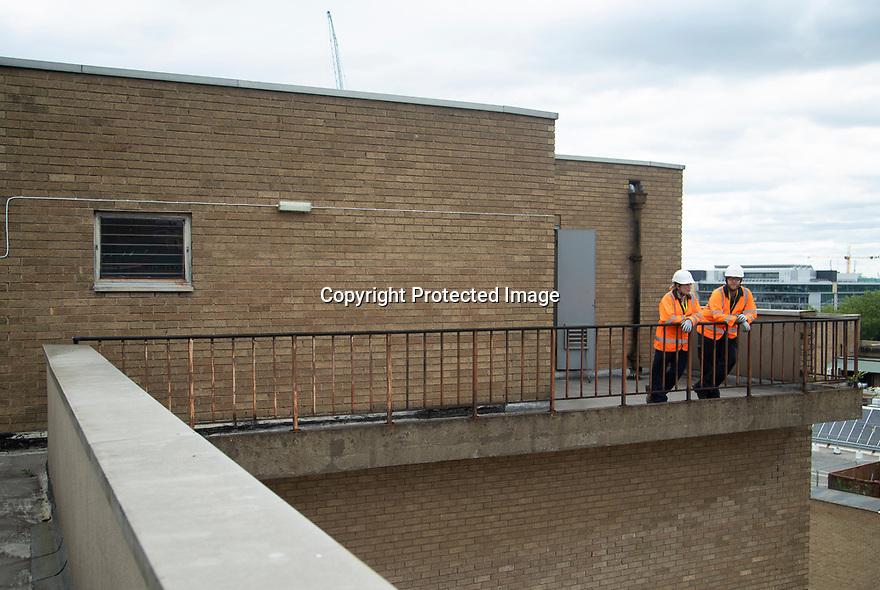 01/07/19<br /> <br /> WPD works at Intu Broadmarsh, Notiingham.<br /> <br /> All Rights Reserved, F Stop Press Ltd +44 (0)7765 242650 www.fstoppress.com rod@fstoppress.com