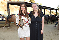 """HOLLYWOOD - JULY 28: (L-R) Co-Creator/Executive Producer/Cast Member Lake Bell and Co-Creator/Executive Producer Elizabeth Meriwether attend the 20th Century Fox Television TCA Studio Day for ABC's """"Bless This Mess"""" at Sunset Ranch Hollywood on July 28, 2019 in Hollywood, California. (Photo by Frank Micelotta/20th Century Fox Television/PictureGroup)"""