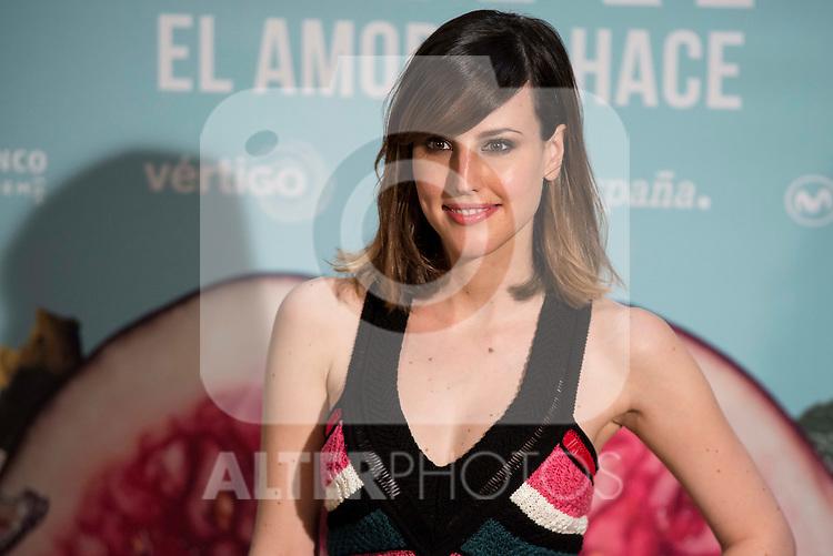 "Natalia de Molina during the presentation of the spanish film ""Kiki, el amor se hace"" in Madrid . March 29, 2016. (ALTERPHOTOS/Borja B.Hojas)"
