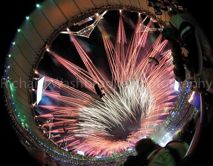 Paralympics London 2012 - ParalympicsGB - Closing Ceremony..The closing ceremony held at the Olympic Stadium 9th September 2012 at the Paralympic Games in London. Photo: Richard Washbrooke/ParalympicsGB