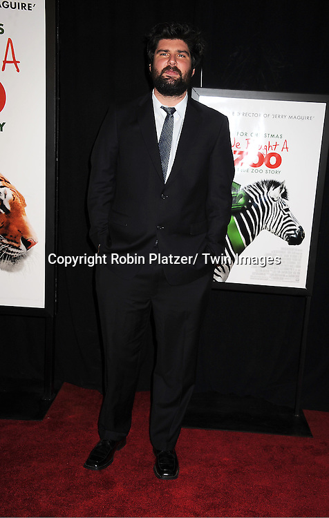 "actor Ben Seeder attends The New York Screening of ""We Bought A Zoo"" on December 12, 2011 at The Ziegfeld Theatre in New York City. The movie stars Matt Damon, Scarlett Johansson, Thomas Haden Church, Patrick Fugit, Colin Ford, Elle Fanning and John Michael Higgins."