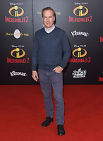 05 June 2018 - Hollywood, California - Bob Odenkirk. Disney Pixar's &quot;Incredibles 2&quot; Los Angeles Premiere held at El Capitan Theatre. <br /> CAP/ADM/BT<br /> &copy;BT/ADM/Capital Pictures
