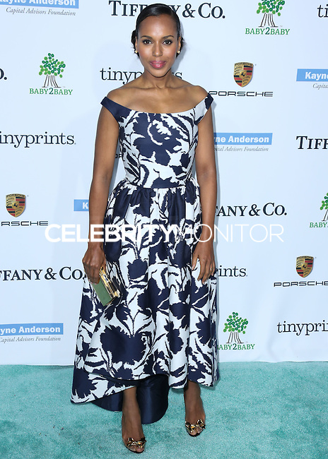 CULVER CITY, LOS ANGELES, CA, USA - NOVEMBER 08: Kerry Washington arrives at the 3rd Annual Baby2Baby Gala held at The Book Bindery on November 8, 2014 in Culver City, Los Angeles, California, United States. (Photo by Xavier Collin/Celebrity Monitor)