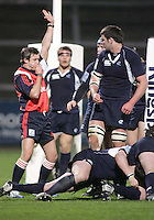 Ireland score a dramatic last minute try to win the Division A clash against Scotland in the U19 World Championship at Ravenhill.