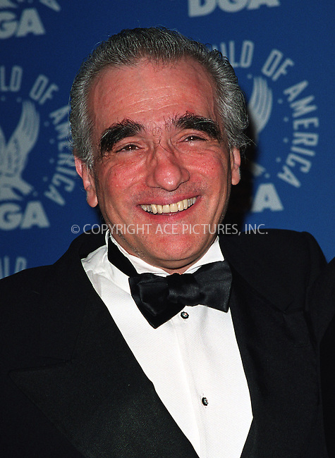 Martin Scorsese at the 3rd Annual Directors Guild of America Awards. New York, June 9, 2002. Please byline: Alecsey Boldeskul/NY Photo Press.   ..*PAY-PER-USE*      ....NY Photo Press:  ..phone (646) 267-6913;   ..e-mail: info@nyphotopress.com