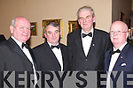ATTENDED: Liam Dennehy (Chairman of North Kerry Board), John Brosnan, Jackie Walsh and Jr. Griffin attended the Feale Rangers Ball in The Listowel Arms Hotel on Friday night.   Copyright Kerry's Eye 2008