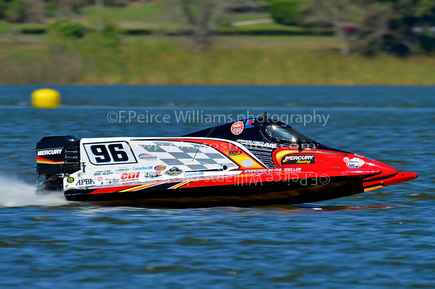 Fred Durr, (#96) (F2 class)