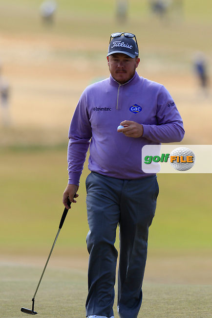George Coetzee (RSA) on the 5th green during Friday's Round 2 of the 2015 U.S. Open 115th National Championship held at Chambers Bay, Seattle, Washington, USA. 6/19/2015.<br /> Picture: Golffile | Eoin Clarke<br /> <br /> <br /> <br /> <br /> All photo usage must carry mandatory copyright credit (&copy; Golffile | Eoin Clarke)