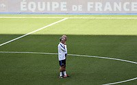 French Head Coach Didier Deschamps watches training during the France National Team Training session ahead of the match with England tomorrow evening at Stade de France, Paris, France on 12 June 2017. Photo by David Horn / PRiME Media Images.