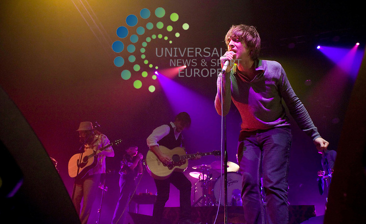 Paolo Nutini at the O2 Academy. Picture Johnny Mclauchlan/Universal news and Sport (Scotland)14/10/09