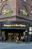 The Compagnie de La Baie d'Hudson (Hudson Bay, The Bay) store is pictured on Ste-Catherine street in Montreal November 3, 2008. The Bay is a department store division of Hbc.