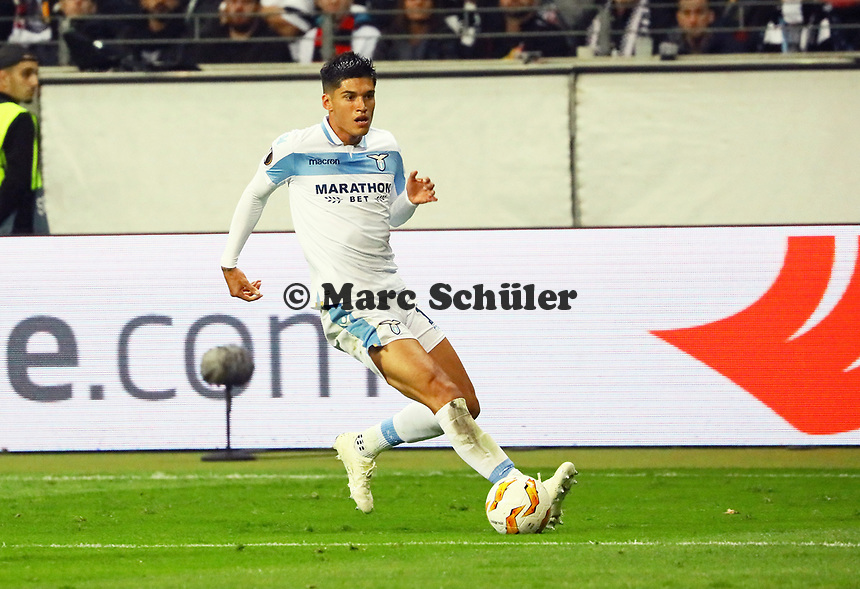 Joaquin Leiva (Lazio Rom) - 04.10.2018: Eintracht Frankfurt vs. Lazio Rom, UEFA Europa League 2. Spieltag, Commerzbank Arena, DISCLAIMER: DFL regulations prohibit any use of photographs as image sequences and/or quasi-video.