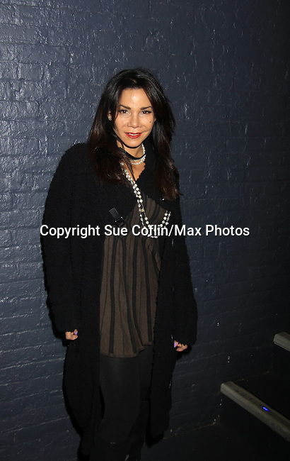 "Smash's Daphne Rubin-Vega was in Broadway's Rocky Horrow Show at a private screening of Sebastian La Cause's web series ""Hustling"" Season Two - 'cause everybody got a hustle -  was held on November 19, 2012 at TriBeca's Cinemas, New York City, New York. Days of our Lives ""Silvio"", One Live To Live and All My Children's Sebastian is the creator of Hustling along with being the writer, director and star (Photo by Sue Coflin/Max Photos)"
