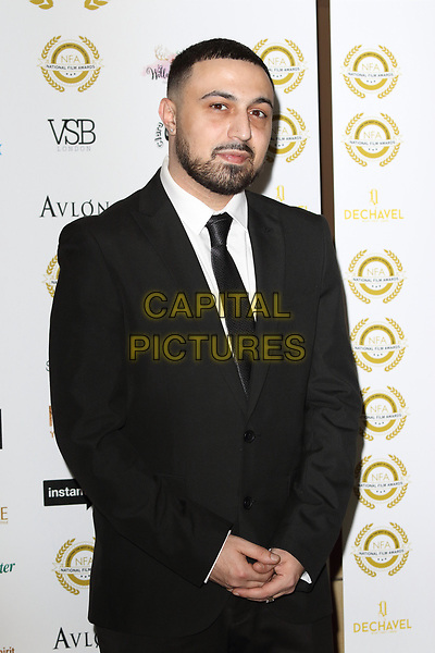 Adam Deacon at the National Film Awards at the Porchester Hall, London on  Wednesday 28 March 2018 <br /> CAP/ROS<br /> &copy;ROS/Capital Pictures
