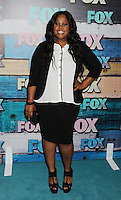 WEST HOLLYWOOD, CA - JULY 23: Amber Riley arrives at the FOX All-Star Party on July 23, 2012 in West Hollywood, California. / NortePhoto.com<br />