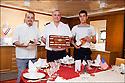 "Les ""Motels"" du Commandant<br /> SM Gerald Dehaye (Chef)<br /> SM Yves Dehaye<br /> Matelot Paul Rinaldi"
