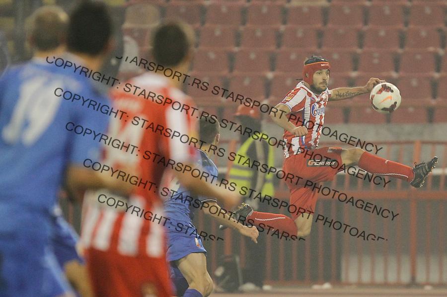 Fudbal Kup Srbije season 2013-2014<br /> Crvena Zvezda v Vojvodina<br /> Milos Ninkovic (R)<br /> Beograd, 04.12.2013.<br /> foto: Srdjan Stevanovic/Starsportphoto &copy;