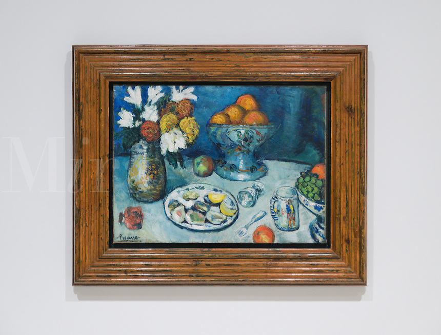 Picasso Still Life oil on canvas, 1901, Museu Picasso of Barcelona, Spain