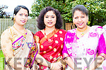 Dipa Chakraborty, Sreyasi Das and Suma Rani Das at the Kerry Hindu Cultural Organistation who were celebrating the Sharadiya Durgotsav festival in Killarney on Monday
