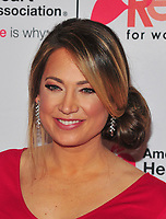 NEW YORK, NY - February 8: Ginger Zee attends the Red Dress / Go Red For Women Fashion Show at Hammerstein Ballroom on February 8, 2018 in New York City Credit: John Palmer / Media Punch