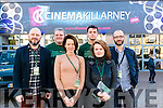 Final screening day at Kerry Film Festival in the Killarney Cinema last Sunday. Pictures some of the organisers l-r Declan McSteem, Graeme Butcher, Neasa Ni Bhric, Adam Kavanagh, Maeve McGrath and Phillip Doyle.