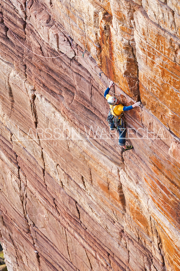 Dave and Andy on the Mucklehouse Wall, E5 6a