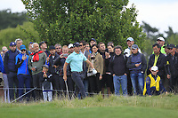 Haydn Porteous (RSA) in the rough on the 10th during Round 4 of the D+D Real Czech Masters at the Albatross Golf Resort, Prague, Czech Rep. 03/09/2017<br /> Picture: Golffile   Thos Caffrey<br /> <br /> <br /> All photo usage must carry mandatory copyright credit     (&copy; Golffile   Thos Caffrey)