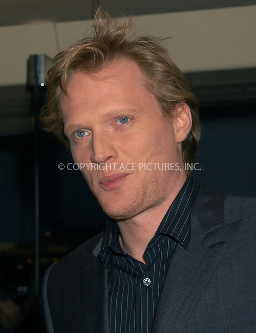 Paul Bettany at the premiere of 'The Reckoning.' New York, March 3, 2004. Please byline: AJ SOKALNER/ACE Pictures.   ..*PAY-PER-USE*      ....IMPORTANT: Please note that our old trade name, NEW YORK PHOTO PRESS (NYPP), is replaced by new name, ACE PICTURES. New York Photo Press and ACE Pictures are owned by All Celebrity Entertainment, Inc.......All Celebrity Entertainment, Inc:  ..contact: Alecsey Boldeskul (646) 267-6913 ..Philip Vaughan (646) 769-0430..e-mail: info@nyphotopress.com