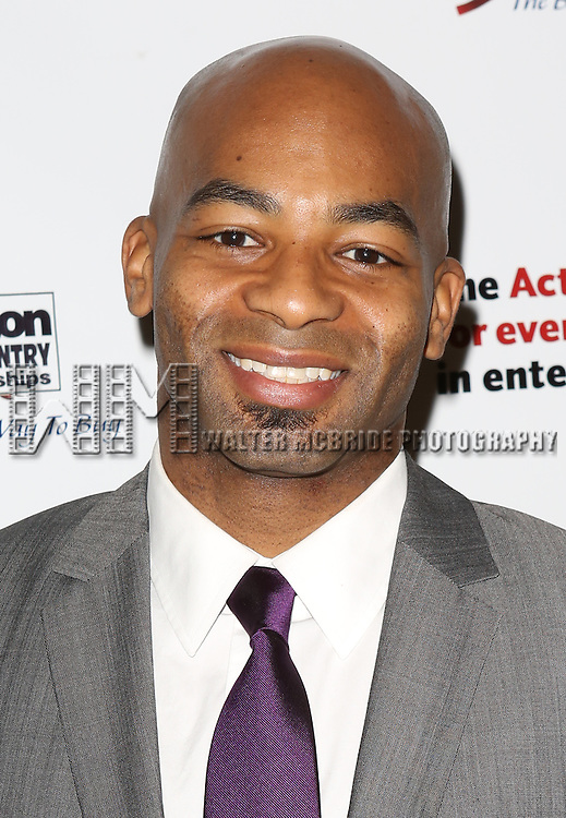 Brandon Victor Dixon   attending the 2013 Actors Fund Annual Gala at the Mariott Marquis Hotel in New York on 4/29/2013...