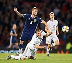 06.09.2019 Scotland v Russia, European Championship 2020 qualifying round, Hampden Park:<br /> Liam Cooper and Aleksei Ionov