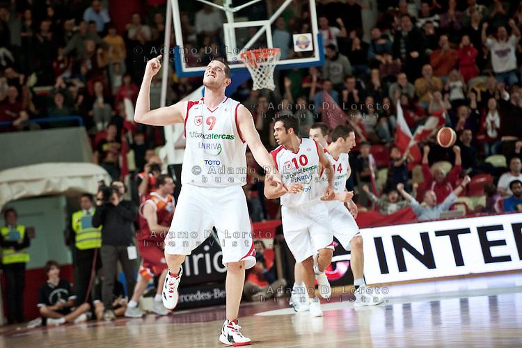 TERAMO 27/12/2011 - BASKET LEGA SERIE A1 CAMPIONATO 2011 - 2012: INCONTRO BANCA TERCAS TERAMO - ACEA ROMA..NELLA FOTO VALERIO AMOROSO TERAMO.FOTO DI LORETO ADAMO