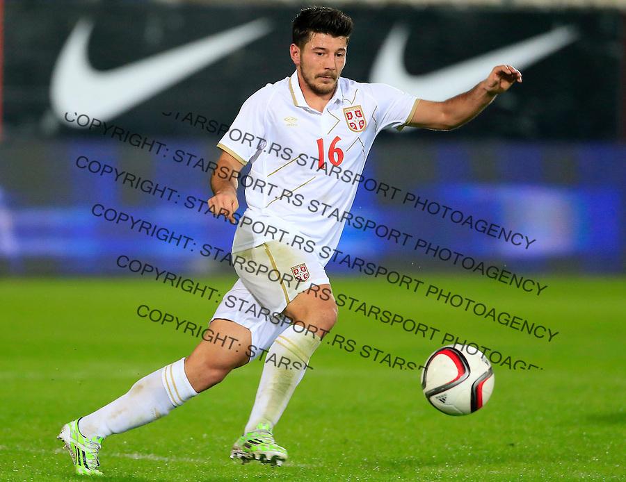 Fudbal<br /> Prijateljski mec-Friendly match<br /> Srbija v Grcka<br /> Milos Jojic<br /> Chania, 17.11.2014.<br /> foto: Srdjan Stevanovic/Starsportphoto &copy;