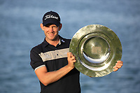 Joachim B Hansen (DEN) winner of the Challenge Tour Order of Merit after the final round of the Ras Al Khaimah Challenge Tour Grand Final played at Al Hamra Golf Club, Ras Al Khaimah, UAE. 03/11/2018<br /> Picture: Golffile | Phil Inglis<br /> <br /> All photo usage must carry mandatory copyright credit (&copy; Golffile | Phil Inglis)