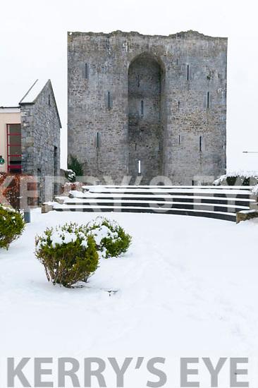 Listowel Castle in the Snow
