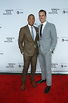 "Don Lemon (left) and partner arrive at the Clive Davis: ""The Soundtrack Of Our Lives"" world premiere for the Opening Night of the 2017 TriBeCa Film Festival on April 19, 2017 at Radio City Music Hall."