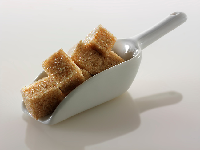 Brown Demerara Sugar cubes