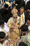 Greek Orthodox Lazarus Saturday celebration in Eizariya, site of Bethany on the eastern slope of the Mount of Olives
