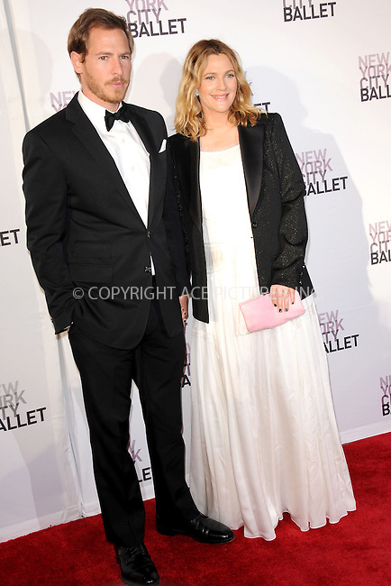 WWW.ACEPIXS.COM . . . . . .May 10, 2012...New York City....Will Kopelman and Drew Barrymore attending New York City Ballet`s 2012 Spring Gala Performance at the David H. Koch Theater at Lincoln Center on May 10, 2012  in New York City ....Please byline: KRISTIN CALLAHAN - ACEPIXS.COM.. . . . . . ..Ace Pictures, Inc: ..tel: (212) 243 8787 or (646) 769 0430..e-mail: info@acepixs.com..web: http://www.acepixs.com .