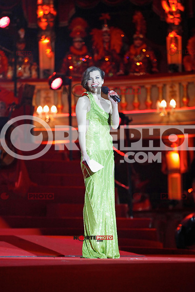 """Milla Jovovich is singing at the """"20th Life Ball"""" AIDS Charity Gala 2012 held at the Vienna City Hall. Vienna, Austria, 19th May 2012...Credit: Wendt/face to face /MediaPunch Inc. ***FOR USA ONLY**"""