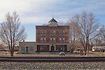 Mountain Home, Idaho, Bengochea Block, Railroad Hotels, commercial district,
