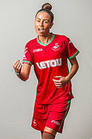 Wedensday 26 July 2017<br />Pictured: Alicia Powe<br />Re: Swansea City Ladies Squad 2017- 2018 at the Liberty Stadium, Wales, UK