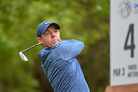 Rory McIlroy (NIR) watches his tee shot on 4 during day 4 of the WGC Dell Match Play, at the Austin Country Club, Austin, Texas, USA. 3/30/2019.<br /> Picture: Golffile | Ken Murray<br /> <br /> <br /> All photo usage must carry mandatory copyright credit (© Golffile | Ken Murray)
