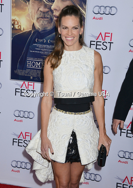 Hilary Swank 023  at The Homesman Premiere at the Dolby Theatre on Nov. 11, 2014 in Los Angeles.