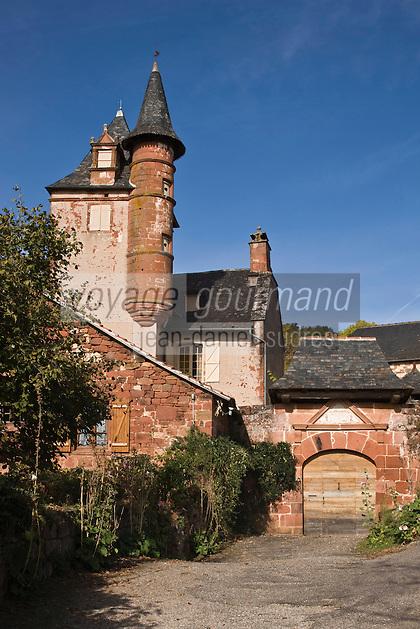 Europe/France/Limousin/19/Corrèze/Collonges-la-Rouge : Le Château de Benges (1560)