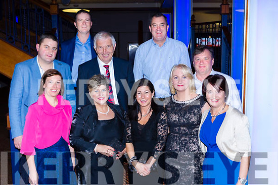 Iris Pilgrimage Trust representatives at the Ring of Kerry cycle cheque presentation in the INEC on Friday front row l-r: Ellen O'Sullivan, Sheila McGillicuddy, Carole Moran, Catherine Foley, Ursula Coffey. Back row: Niall Horgan, Kieran Coffey, Oliver Butler, James Foley and Eoin O'Grady