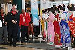 Craig Reedie, MARCH 6, 2013 : International Olympic Committee Vice President Craig Reedie and IOC Evaluation Commission menber visit at Tokyo Bigsight, Tokyo, Japan. The IOC evaluation commission, led by Reedie, began a four-day inspection of Tokyo's bid to host the 2020 Olympics. (Photo by Yusuke NakanishiAFLO SPORT)