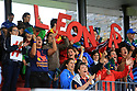 BELFAST, NORTHERN IRELAND - AUGUST 26: Spain's rugby supporters during a final play off  in the Women's World Cup Rugby 2017 at Queen's  University Belfast, Saturday,  August 26, 2017. Photo/Paul McErlane