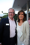 PALM SPRINGS - APR 27: Dan Kitowski, Linda Gray at a cultivation event for The Actors Fund at a private residence on April 27, 2016 in Palm Springs, California