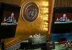 General Assembly 70th session:  50th plenary meeting<br /> 1.        Election of thirty members of the United Nations Commission on International Trade Law [item 113 (b)] <br /> 2.        Appointment of members of the Committee on Conferences: Note by the Secretary-General (A/70/107) [item 114 (e)] <br /> 3.        Appointment of members of the Joint Inspection Unit: Note by the Secretary-General (A/70/106) [item 114 (f)] <br /> 4.        Election of eighteen members of the Economic and Social Council 1 [item 112 (b)]